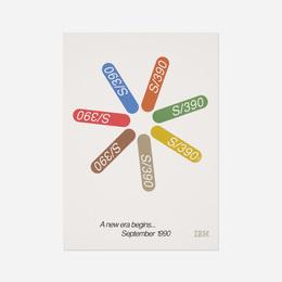 IBM S390 poster color variant