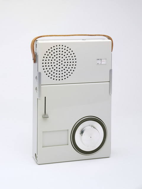 , 'Braun Portable Record Player,' 1959, Victoria and Albert Museum (V&A)