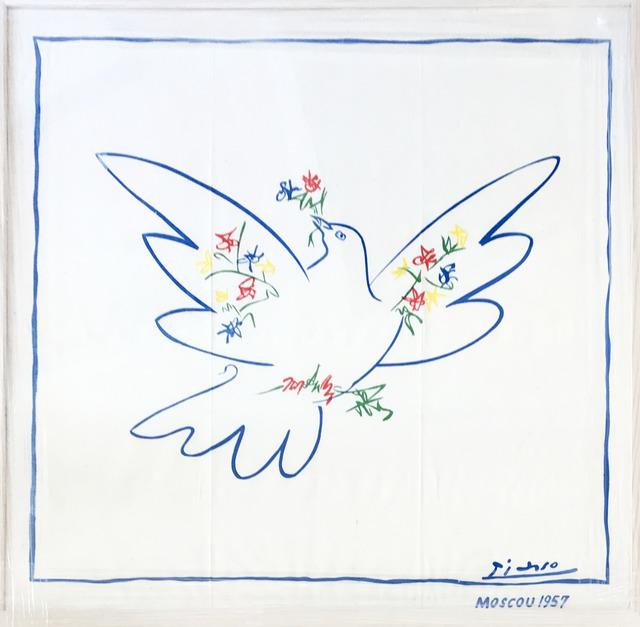 Pablo Picasso, 'Colomb de la Paix, Moscou (linen)', 1957, Fairhead Fine Art Limited