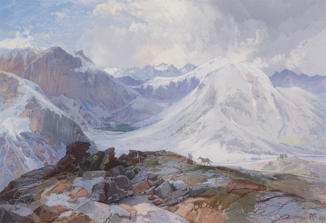 Thomas Moran, 'The Mosquito Trail, Rocky Mountains of Colorado', 1875, Hindman