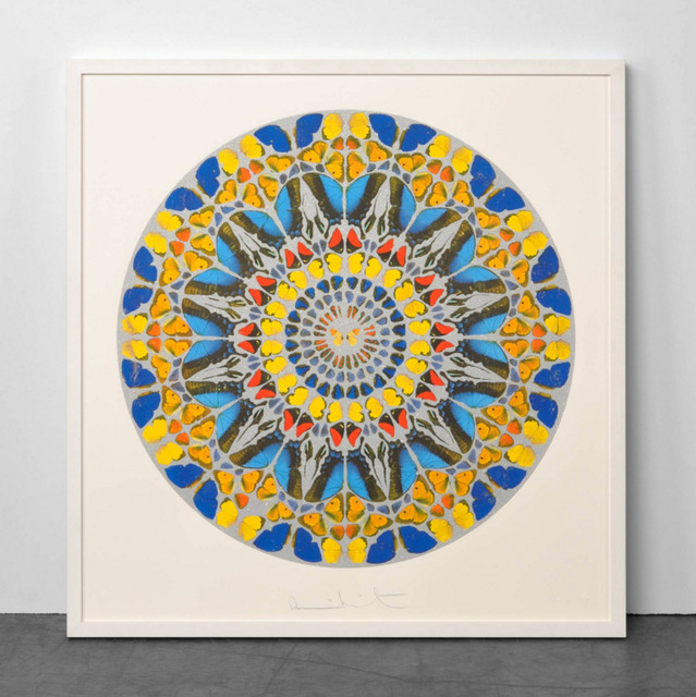 Damien Hirst, 'Damien Hirst Psalm: Confitebor Tibi (with Diamond Dust) ', 2010, Oliver Cole Gallery