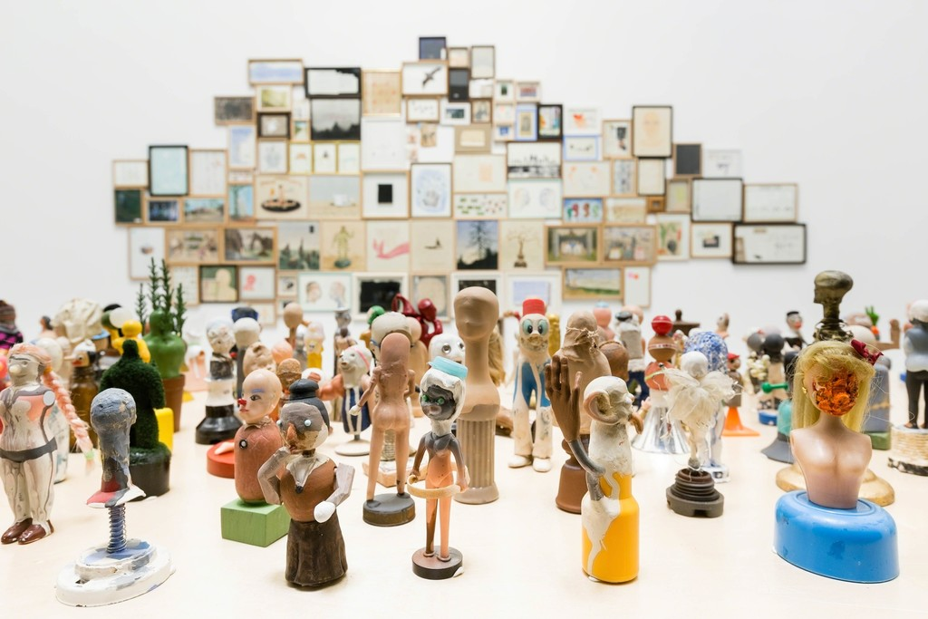 Baik Art, Los Angeles, CA (Installation view)