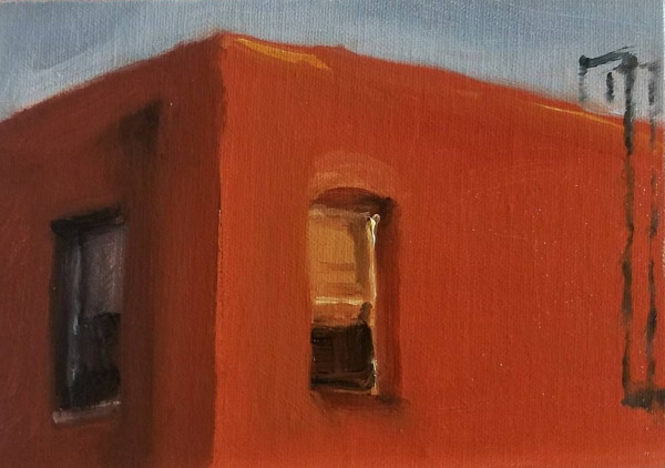 , 'Local - Brick Building,' 2017, Flower Pepper Gallery