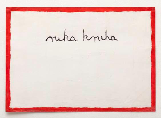 , 'Ruka kruha (Hand of Bread),' 1974, Galerie Martin Janda