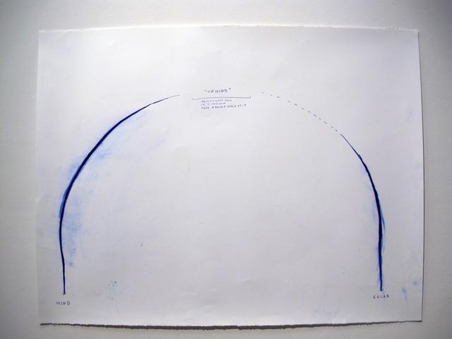 , 'Unwind I,' 2014, Carroll / Fletcher