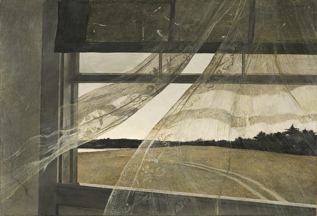 Andrew Wyeth, 'Wind from the Sea', 1947, Seattle Art Museum