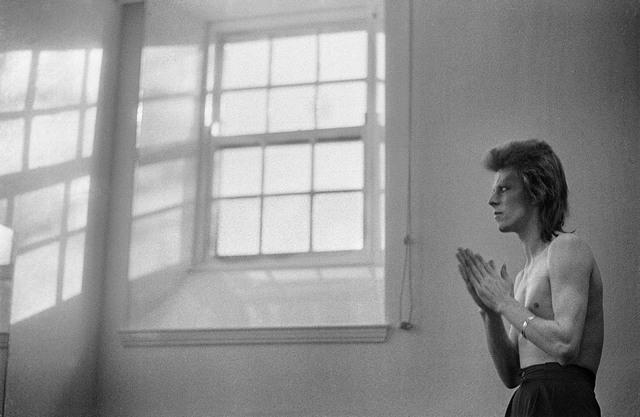 , 'Bowie Praying by Windows,' 1973, TASCHEN