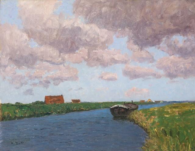 , 'Summer Landscape in Belgium,' ca. 1925, Galerie Kovacek & Zetter