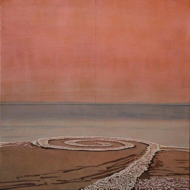 , 'Spiral Jetty no.8,' 2017, Terzian Galleries