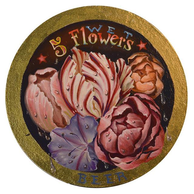 , 'Five Wet Flowers Beer,' 2018, Gallery 30 South