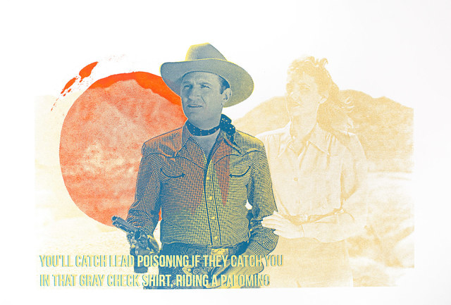 , 'Gene Autry,' 2015, Garis & Hahn