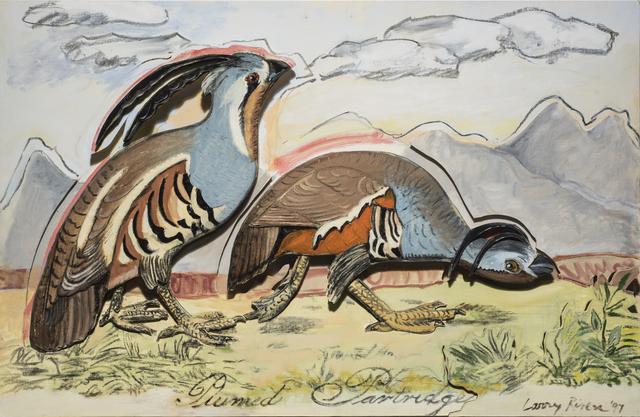 Larry Rivers, 'Plumed Partridge', 1997, The Sunfair Gallery