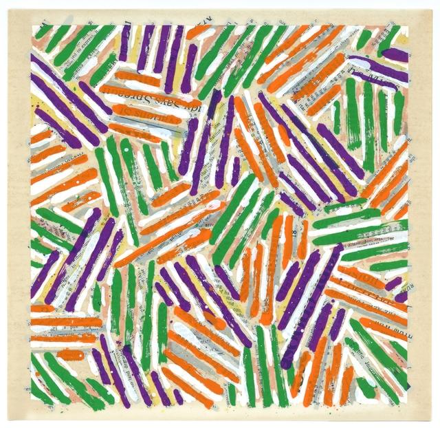 Jasper Johns, 'Original silkscreen', 1977, Artsnap