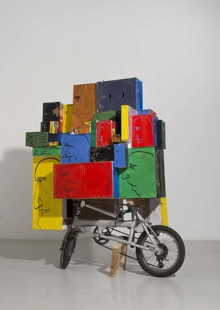 , 'Bicycle Cart,' 2017, Gordon Gallery