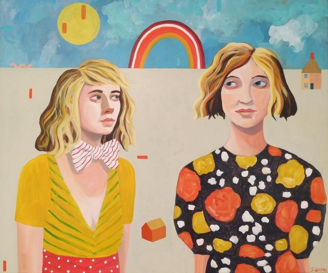 , 'Sisters in a Landscape,' 2019, Kittoe Contemporary