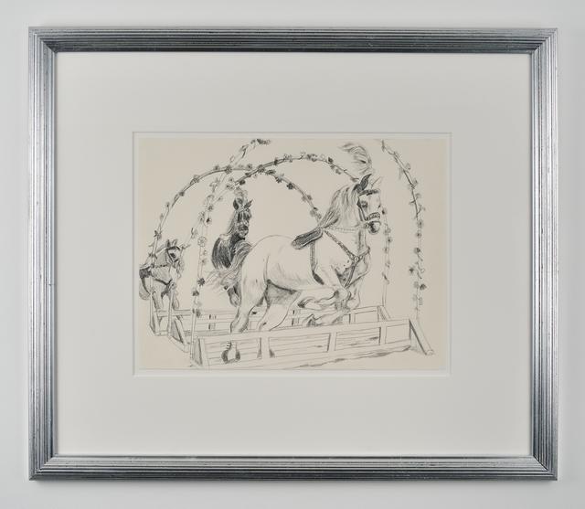 , 'Circus Horse ,' 2014, Galerie Mitterrand