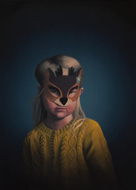 , 'Deer Girl,' 2017, Galleria Heino