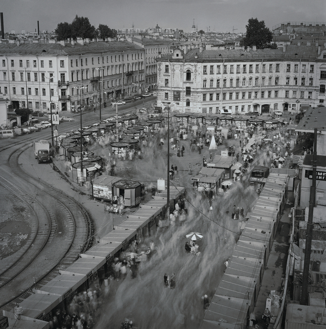 , 'Sennaya Square in August (19) (a day after economic collapse), St. Petersburg, ,' 1998, Kolodzei Art Foundation