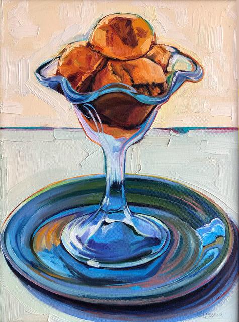 , 'Ice Cream in a Blue Goblet,' , Underscore Art