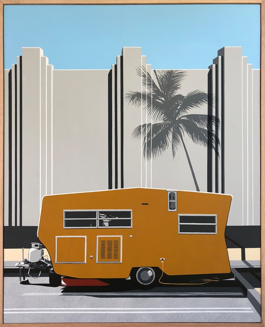 , 'Camped Out,' 2019, Timothy Yarger Fine Art