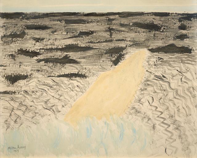 Milton Avery, 'Sand Spit', 1957, Debra Force Fine Art