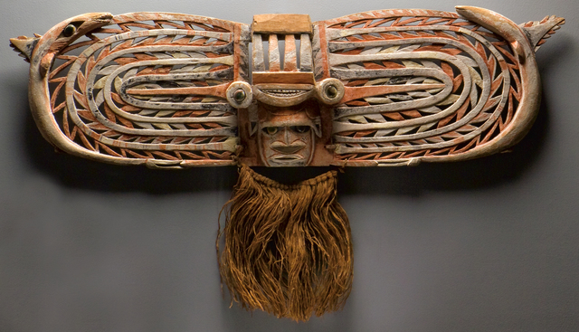 , 'Malagan Display Mask,' Probably 19th century, Fowler Museum at UCLA