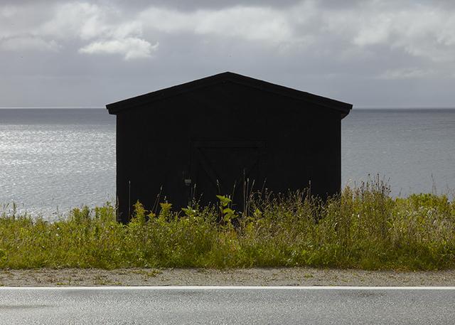 , 'Black Shed, Port aux Port,' 2016, Nicholas Metivier Gallery
