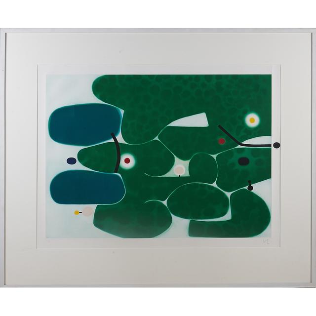 "Victor Pasmore, '""Vigna Antoniniana""', 1980, Rago/Wright"