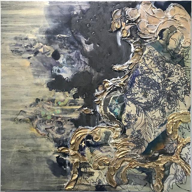 , 'Graphite Section,' 2018, Toshkova Fine Art Advisory