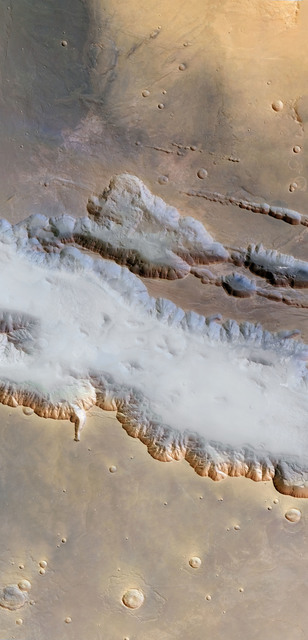 , 'Ground Fog in Valles Marineris, Mars Express, May 25, 2004,' 2012, Flowers