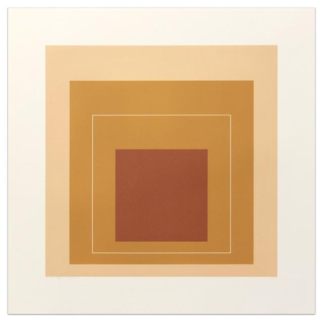 , 'White Line Squares (Series II), XVI ,' 1966, Gregg Shienbaum Fine Art