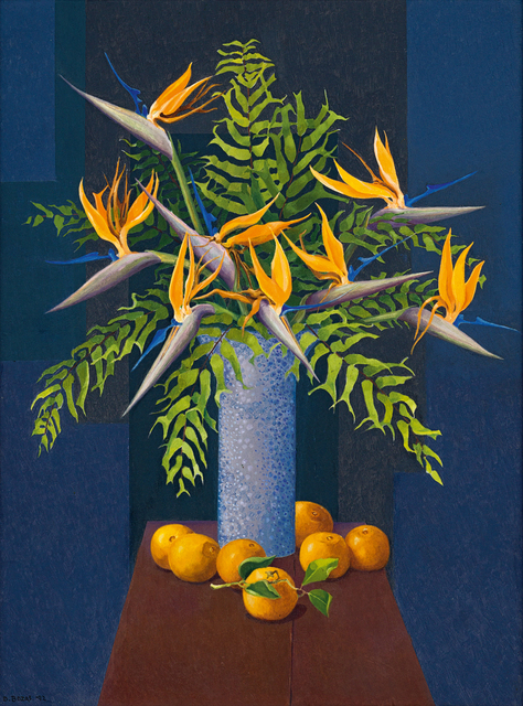 Diamond Bozas, 'Still Life with Strelitzias, Oranges and Ferns', Strauss & Co