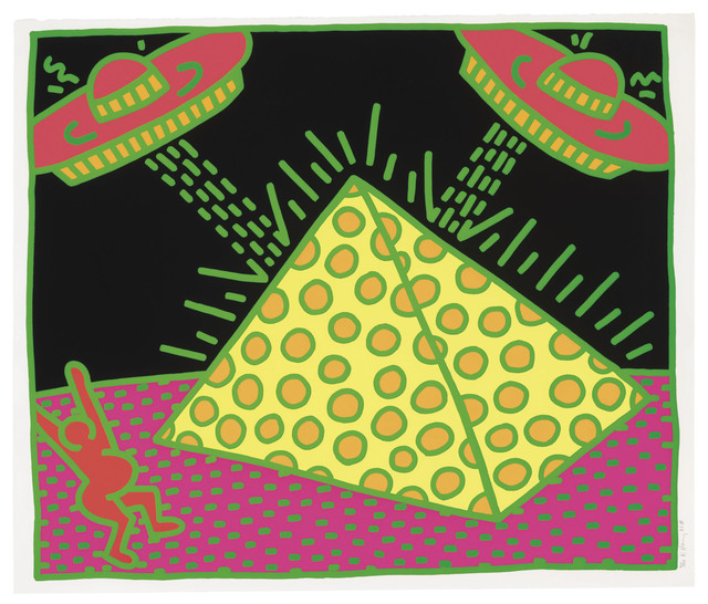 Keith Haring, 'Fertility Suite, Untitled 2 ', 1983, Maddox Gallery