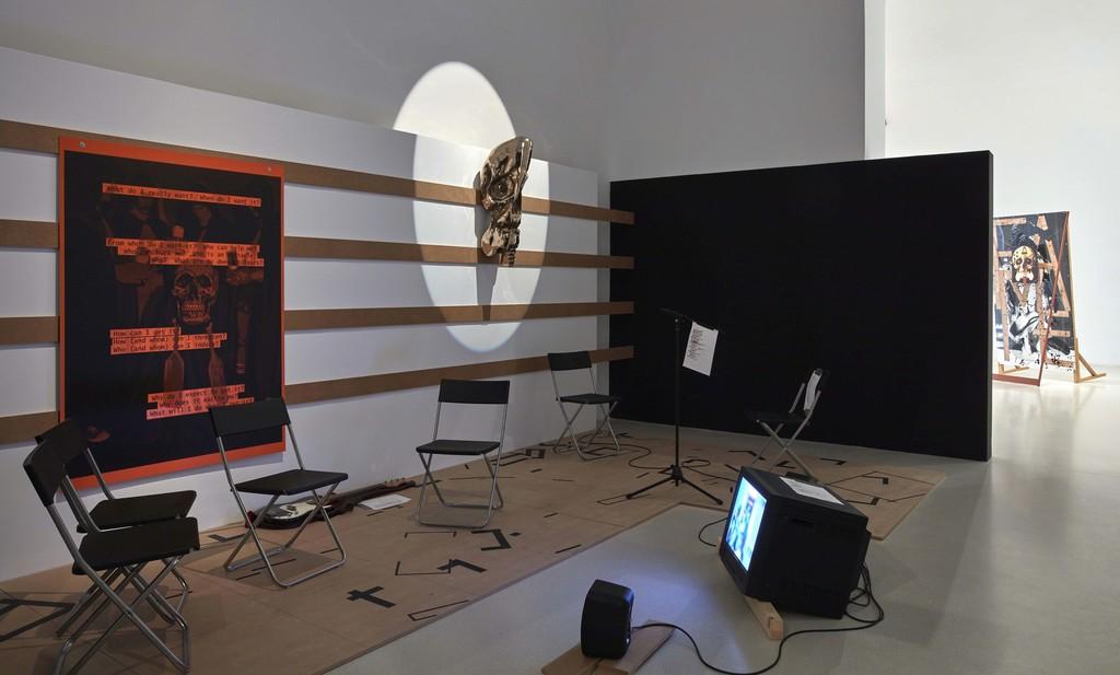 Installation view, Txomin Badiola: Another Family Plot at Museo Nacional Centro de Arte Reina Sofía, 2016. Photo: Joaquín Cortés / Román Lores