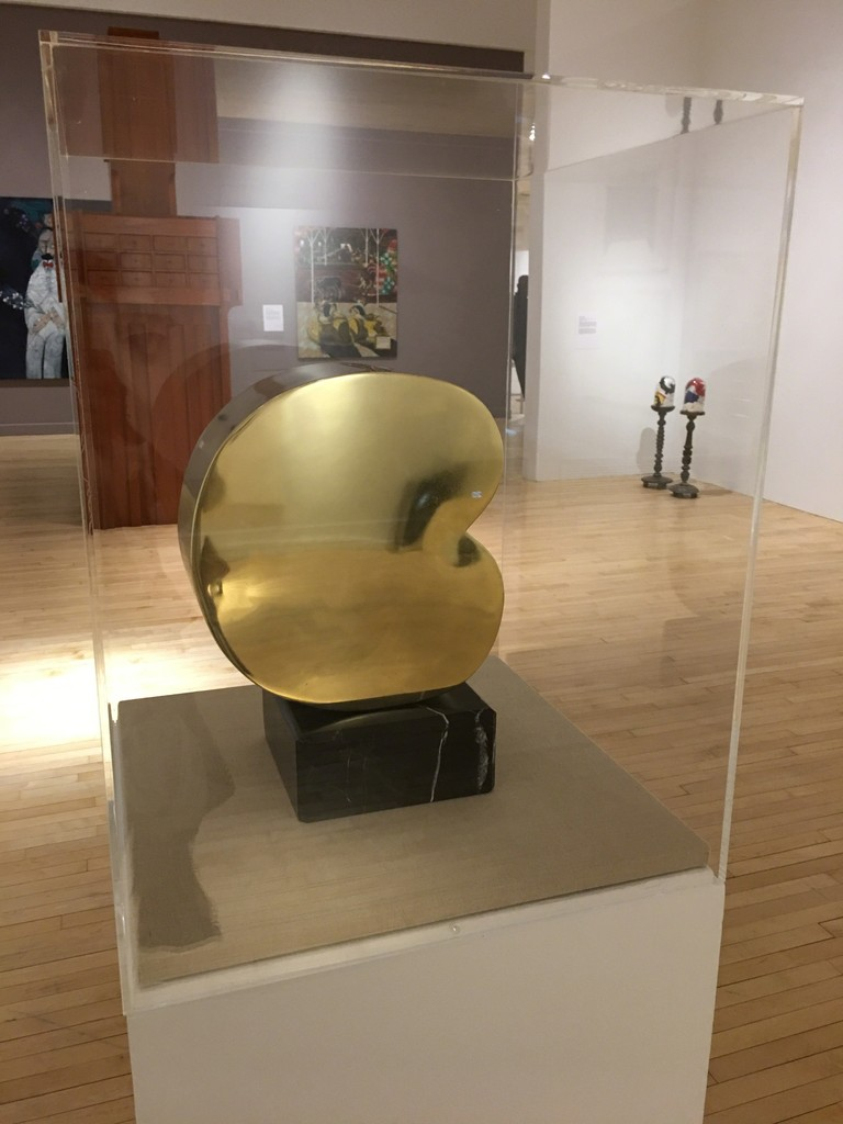 Cambio, Bronze on marble base, on loan from Collectors at Bronx Museum's  Wild Noise exhibition. On view through July 3, 2017