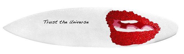 , 'Trust the Universe (surfboard),' , De Re Gallery
