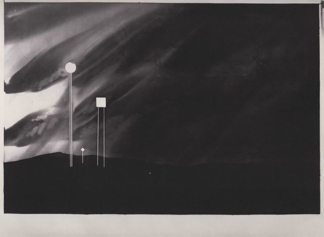 , 'Four Signs, Tulsa, Oklahoma (from 100 Views Along the Road),' 1981-1983, Bruce Silverstein Gallery