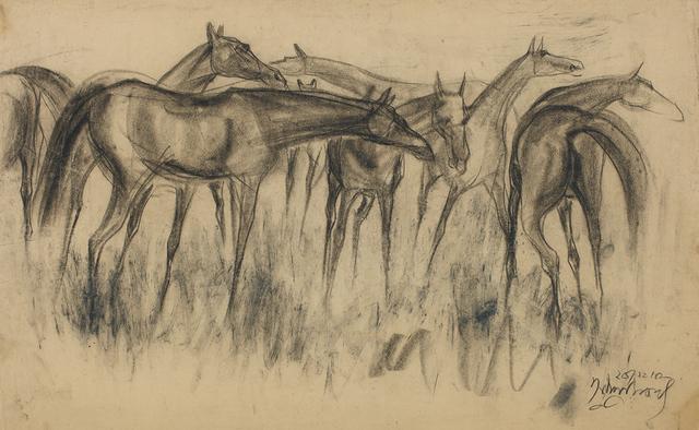 , 'Horses,' 1958, Dag Modern