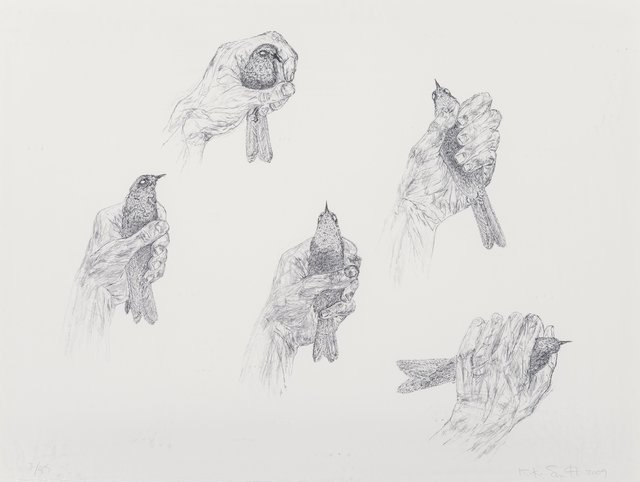 Kiki Smith, 'Untitled', 2009, Print, Lithograph on Revere felt paper, Heritage Auctions