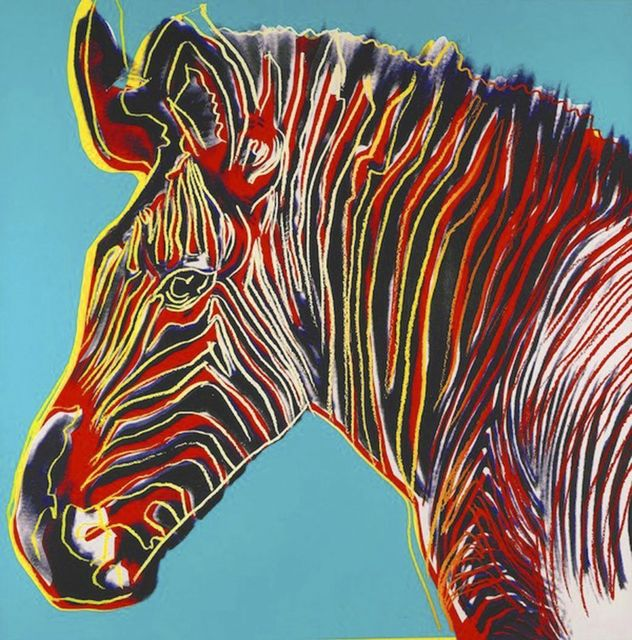 Andy Warhol, 'Grevy's Zebra II.300', 1983, OSME Fine Art