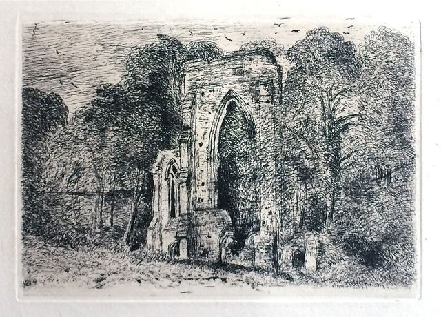 , 'Ruins at Netley Abbey,' 1816, Gerrish Fine Art