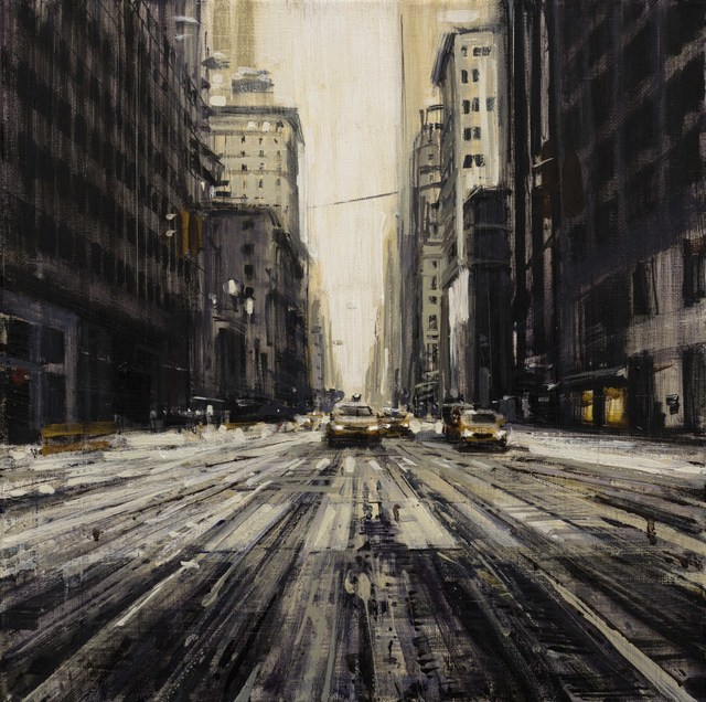 Valerio D'Ospina, 'Snowy Street in NYC', 2018, Gallery 1261