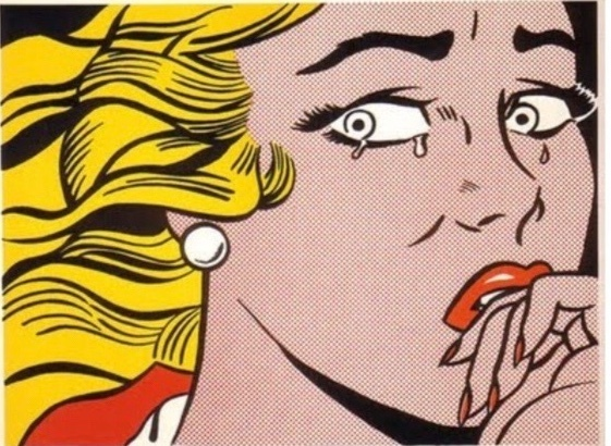 Roy Lichtenstein, 'Crying Girl', 1963, Print, Lithograph, iv gallery