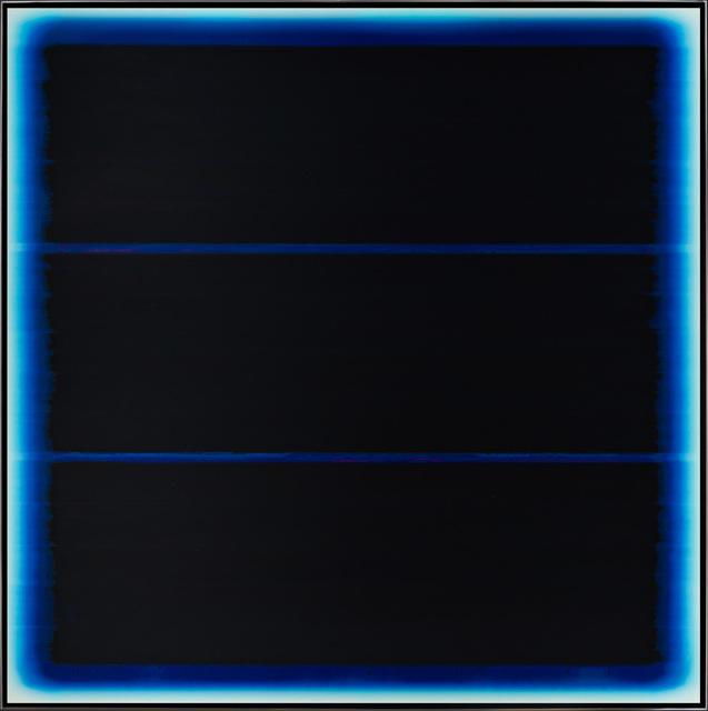 , '3 Bars in Blue,' ca. 2019, Merritt Gallery