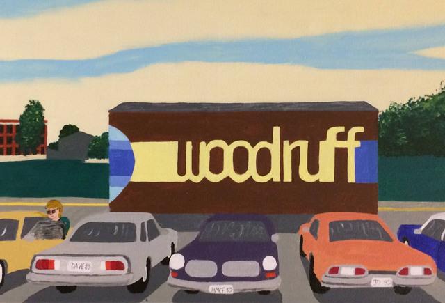 Don Hammontree, 'Woodruff High School, Peoria, IL', 2017, Clyde Hogan Fine Art