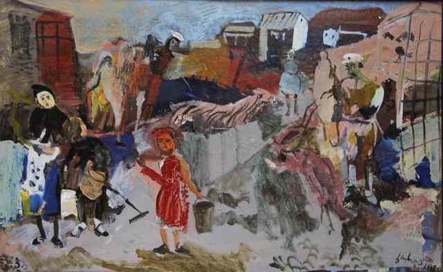 , 'Zoo keepers,' 1989, Vanda Art Gallery