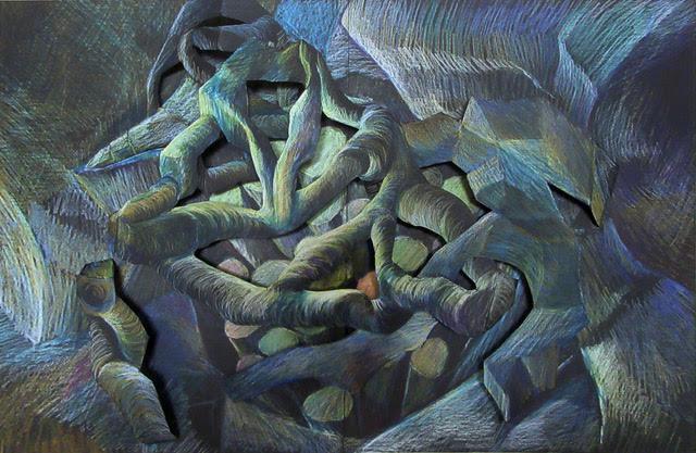 , 'Tangled Rocks,' 2018, Ro2 Art