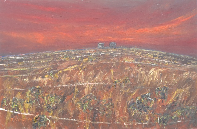 Robert Fisher, 'Bernies Tanks at Dusk, William Creek', Wentworth Galleries