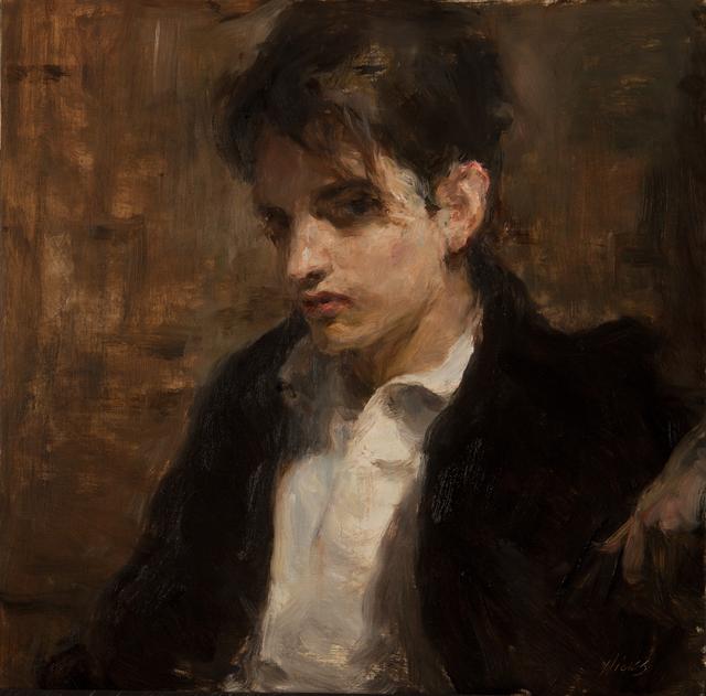 Ron Hicks, 'The Bazaar Contemplator', 2017, Painting, Oil, Gallery 1261