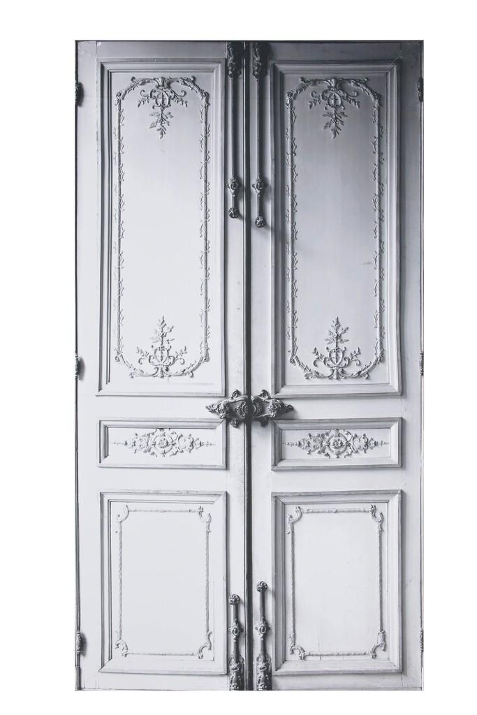 Porte trompe-l'oeil MMM – Ligne 13, publisher: Maison Martin Margiela, intissé, digital printing, 2010 © Les Arts Décoratifs, Paris, photo : Jean Tholance